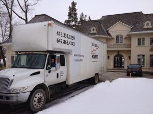 Residential High Level Movers are right in front of your home and waiting for instructions.