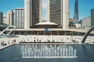 Toronto city center