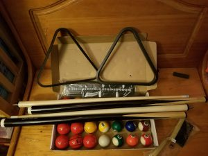 pool table packing