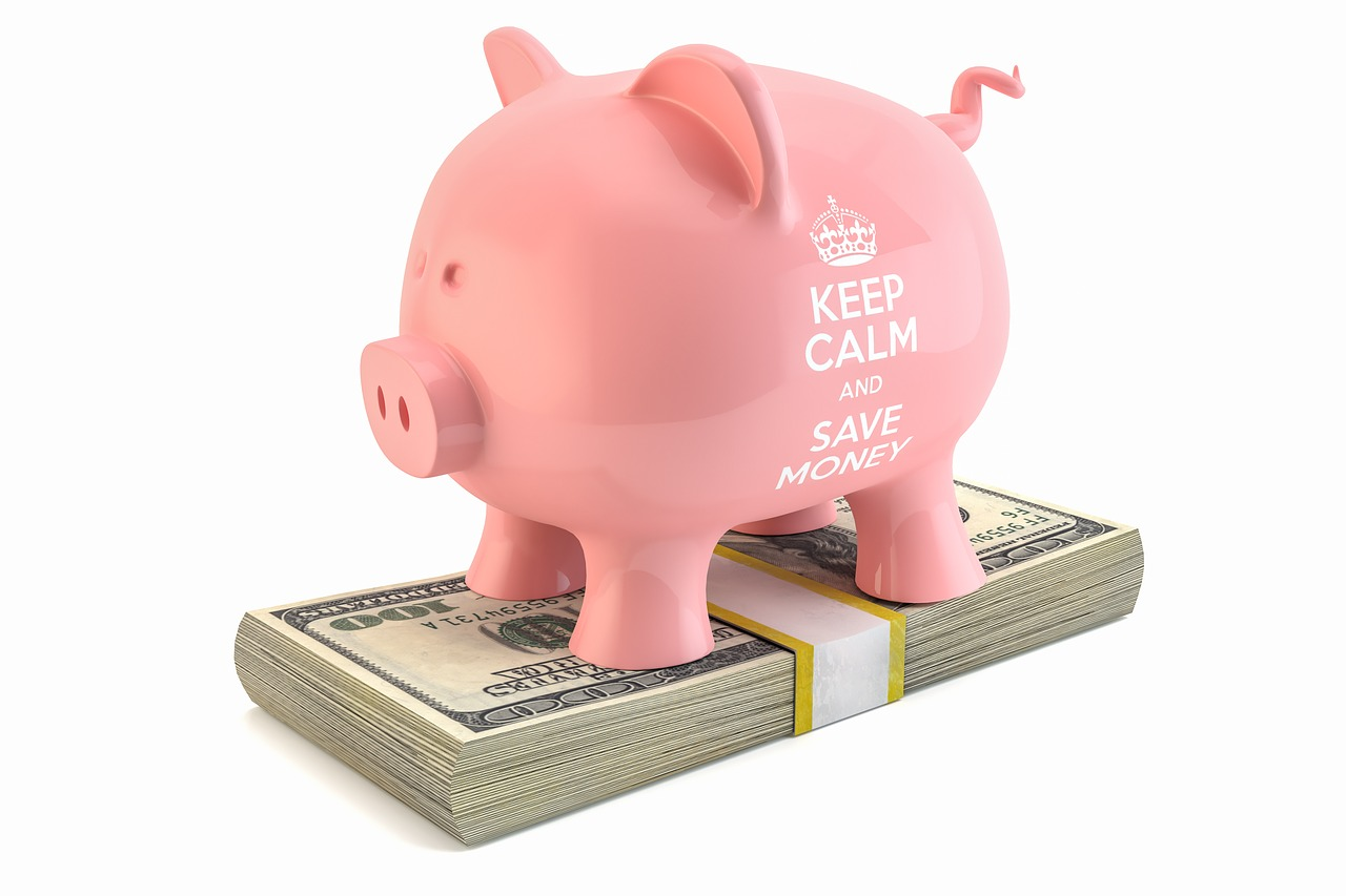 Piggy bank - Move cheap