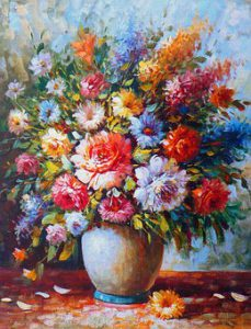 Sensitive things like oil paintings we have to keep away from sunlight or humidity.