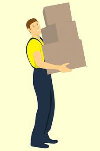 Hiring moving company will help you pack and relocate your belongings safely to another location.