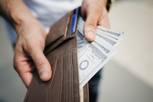 Wallet with lot of money is what you need when you want to buy a house or an apartment